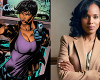 Kerry Washington From Suicide Squad Team