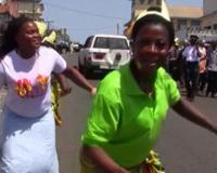End Of Ebola Celebrated in Liberia