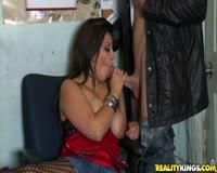 redwap.biz Amazing Big Titted Brunette Getting Huge Cum On Tits 1