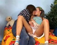 borwap.net Sexy Amateur Blonde Russian Teen Fucking With Her Boyfriend 2