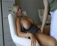 borwap.com Super sexy mature secretary fucking with boss at office