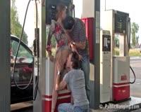 borwap.com Two Pumper Fucking Tee Sexy Customer At Gas Station