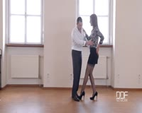 borwap.com Aylin Diamond Dance Lesson Footjob