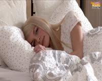 borwap.net Sexy Blonde Teen Woke Up And Masturbate