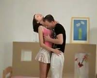 borwap.com Pretty Face Hot Teen Janina Gets Fucked by Boyfriend And Cum